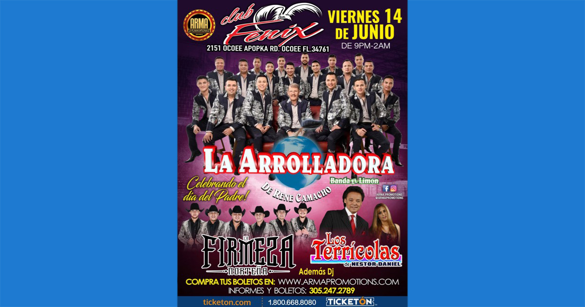 Arte La Arrolladora Ocoee Website